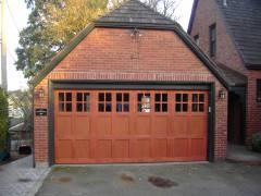 Seward Park - Custom Garage Door Stain & Install