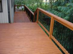 Central District - Deck Refinish & Stain