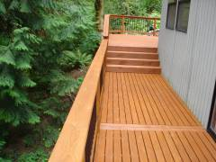 Central District - Exterior Deck Refinish & Stain