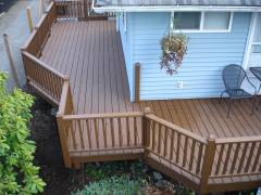 Burian - Exterior Deck Rebuild & Stain