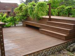 Seward Park - Exterior Deck  Refinish & Stain